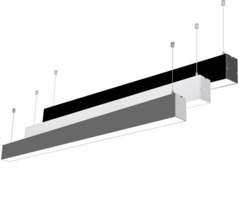 LAMPARA LINEAL COLGANTE LED 36W